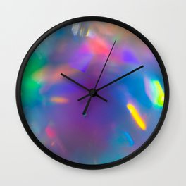 Prisms Play of Light 7 Wall Clock