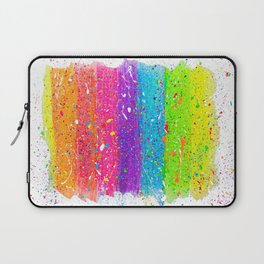 Splatter Rainbow Laptop Sleeve