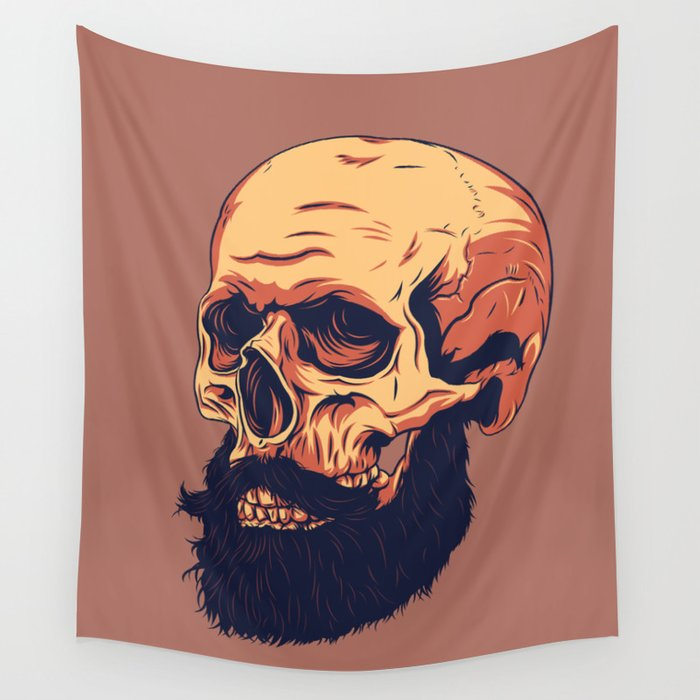 Mr. Skull Wall Tapestry