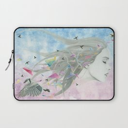 """The age of miracles"" Laptop Sleeve"