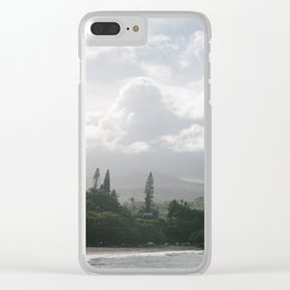 Island Paradise Clear iPhone Case