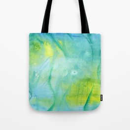 Mermaid´s Grotto Watercolor Tote Bag
