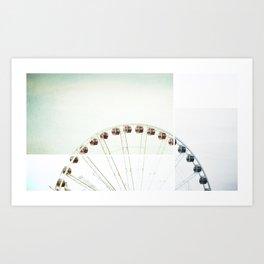 Seattle Eye Art Print