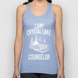 Camp Crystal Lake Counselor Unisex Tank Top