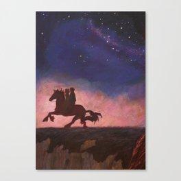 The Scorpio Races Canvas Print