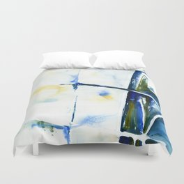 Abstract interior detail Duvet Cover