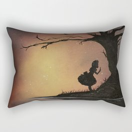 Alice's Adventures in Wonderland by Lewis Carroll Rectangular Pillow