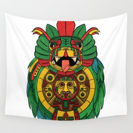 Quetzalcoatl Legacy Wall Tapestry