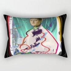 Bronzino and Signorino Street Art Graffiti Rectangular Pillow