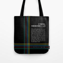 Philosophia II: I think, therefore I am Tote Bag