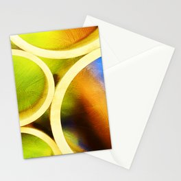 Circle Abstract Stationery Cards