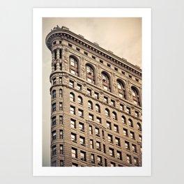 New York: Flatiron Color Art Print