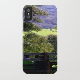 Cattle Yard iPhone Case