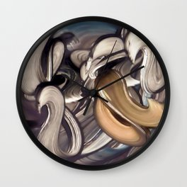 Agriculture And The Plough Wall Clock