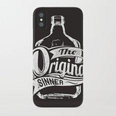 The original sinner Slim Case iPhone X