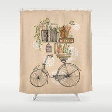 Pleasant Balance Shower Curtain