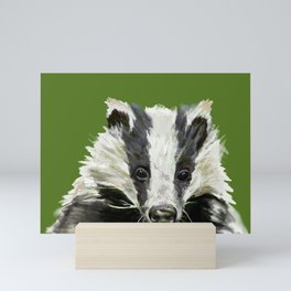 Animals endangered by HS2 (#stophs2) Mini Art Print