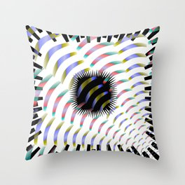 Ambiguous Abstraction, 2370f Throw Pillow