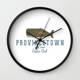 Provincetown - Cape Cod. Wall Clock