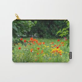 Wildflower. Carry-All Pouch