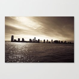 Looking out on Tribeca  Canvas Print