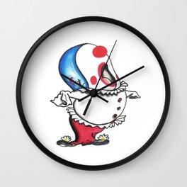 Pagliacci Whale Clown Wall Clock