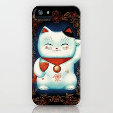 Lucky Cat iPhone (5, 5s) Slim Case