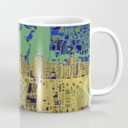 miami city skyline Coffee Mug