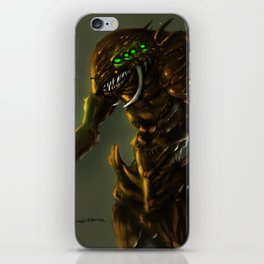 Reptilian Brood iPhone Skin