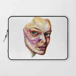Face Pointed Out Laptop Sleeve