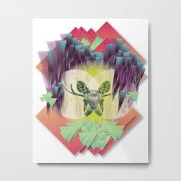Neon Ritual Metal Print
