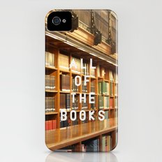 All Of The Books Slim Case iPhone (4, 4s)