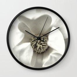Classy Magnolia Wall Clock
