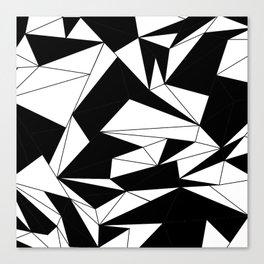 looking black Canvas Print