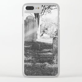 Old Burial Ground Clear iPhone Case
