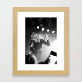 Coeur de Pirate @ The Mod Club (Toronto) Framed Art Print