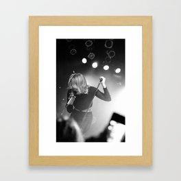 Coeur de Pirate @ The Mod Club (Toronto) Framed Art Print