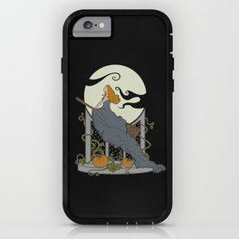 Halloween Nouveau iPhone Case
