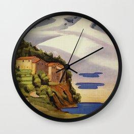 Rieti Sabina vintage Italian travel Wall Clock