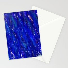 Color gradient and texture 31 dark blue Stationery Cards