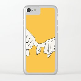 HANDS 5 Clear iPhone Case