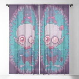 Nosferatu Jr. Sheer Curtain