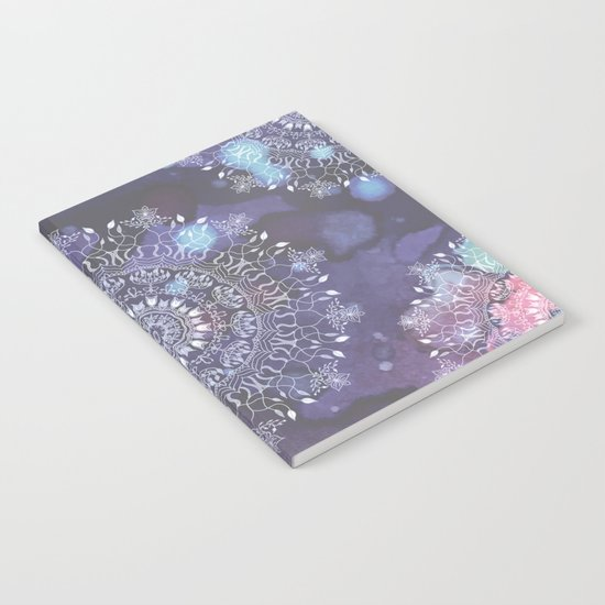 Indigo mandala Notebook