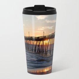 Rodanthe Pier Sunrise Travel Mug