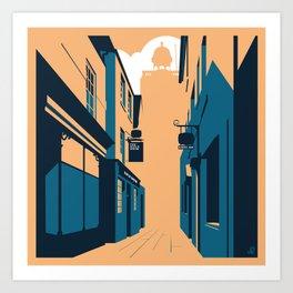 Drum Lane, Northampton - circa 1967 Art Print
