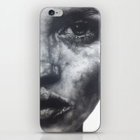 kate bishop iPhone & iPod Skins featuring Kate  by Lucy Schmidt Art