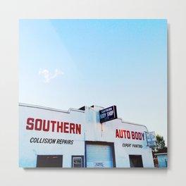 Southern Autobody Metal Print