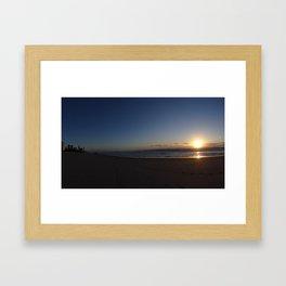 First Light On The Gold Coast Framed Art Print