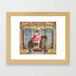 The amazing Catgirl Framed Art Print