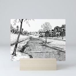 A walk to remember Mini Art Print